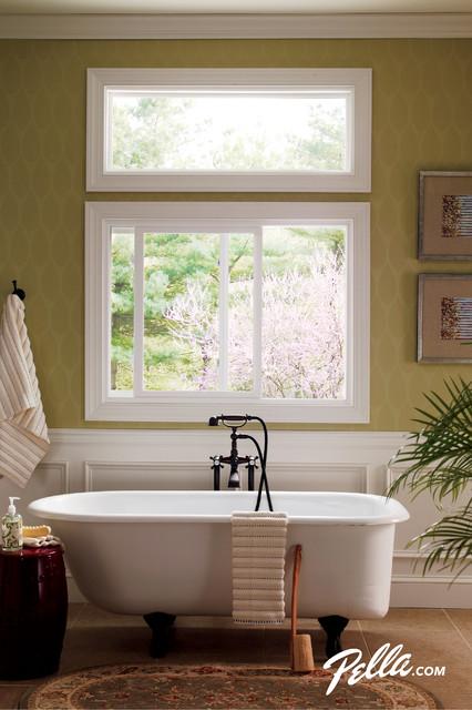 Pella® 350 Series Sliding Window contemporary-bathroom