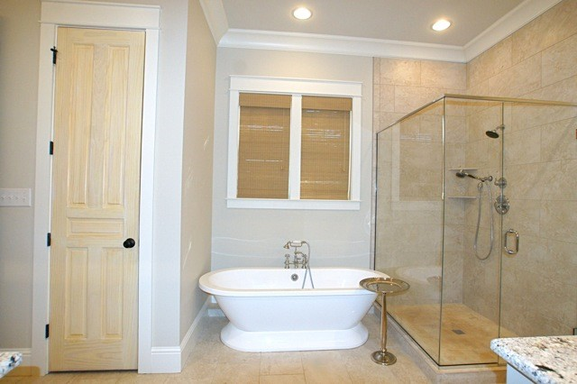Bathroom - transitional bathroom idea in Other