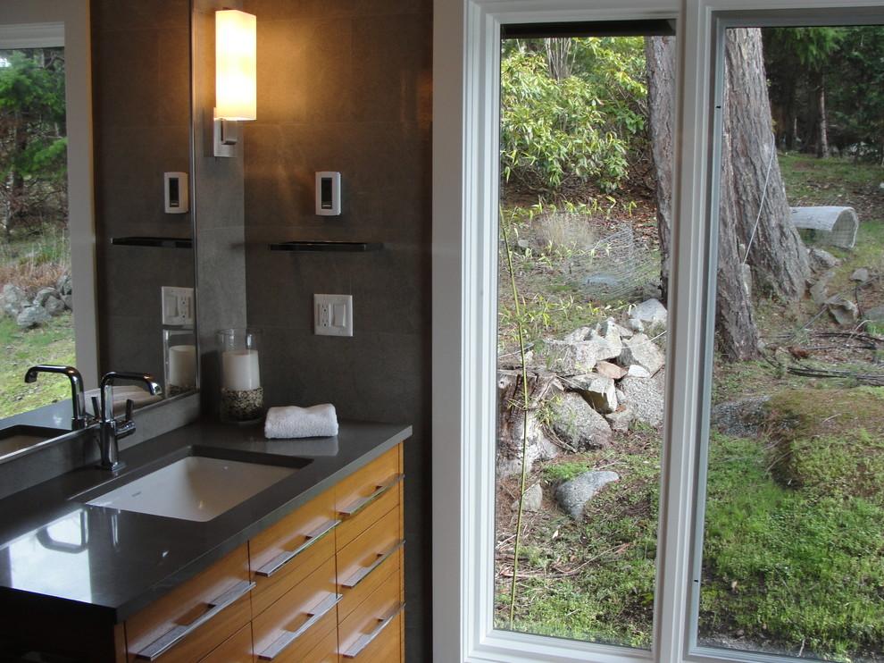Idee per una stanza da bagno stile marino