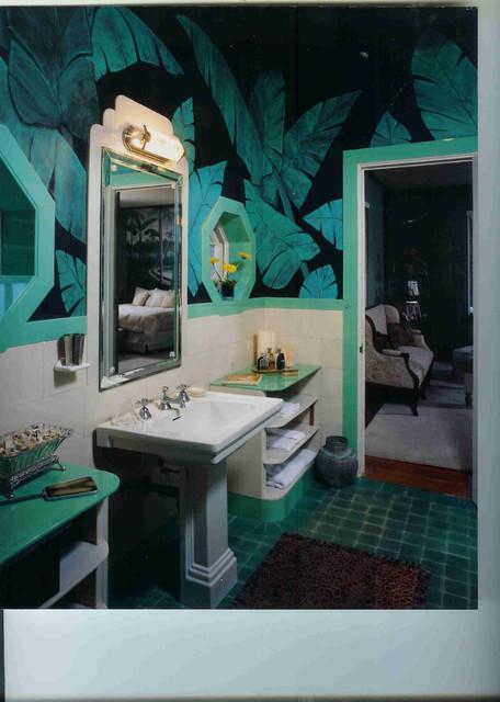 Pensacola Art Deco House Interiors