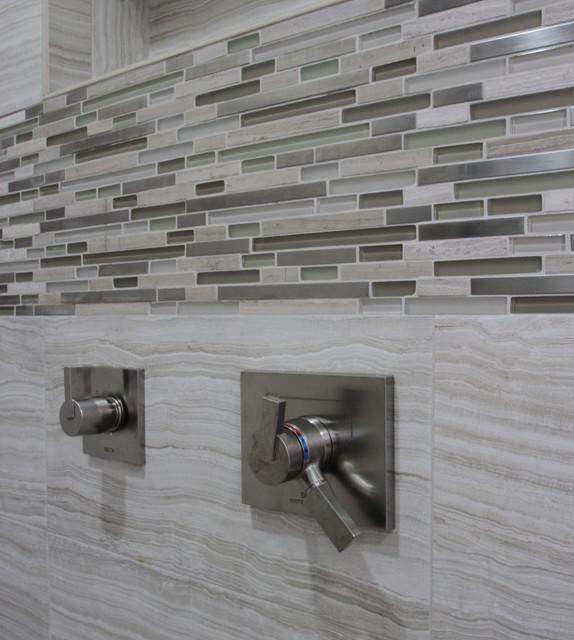 Penthouse Condo Remodel beach-style-bathroom