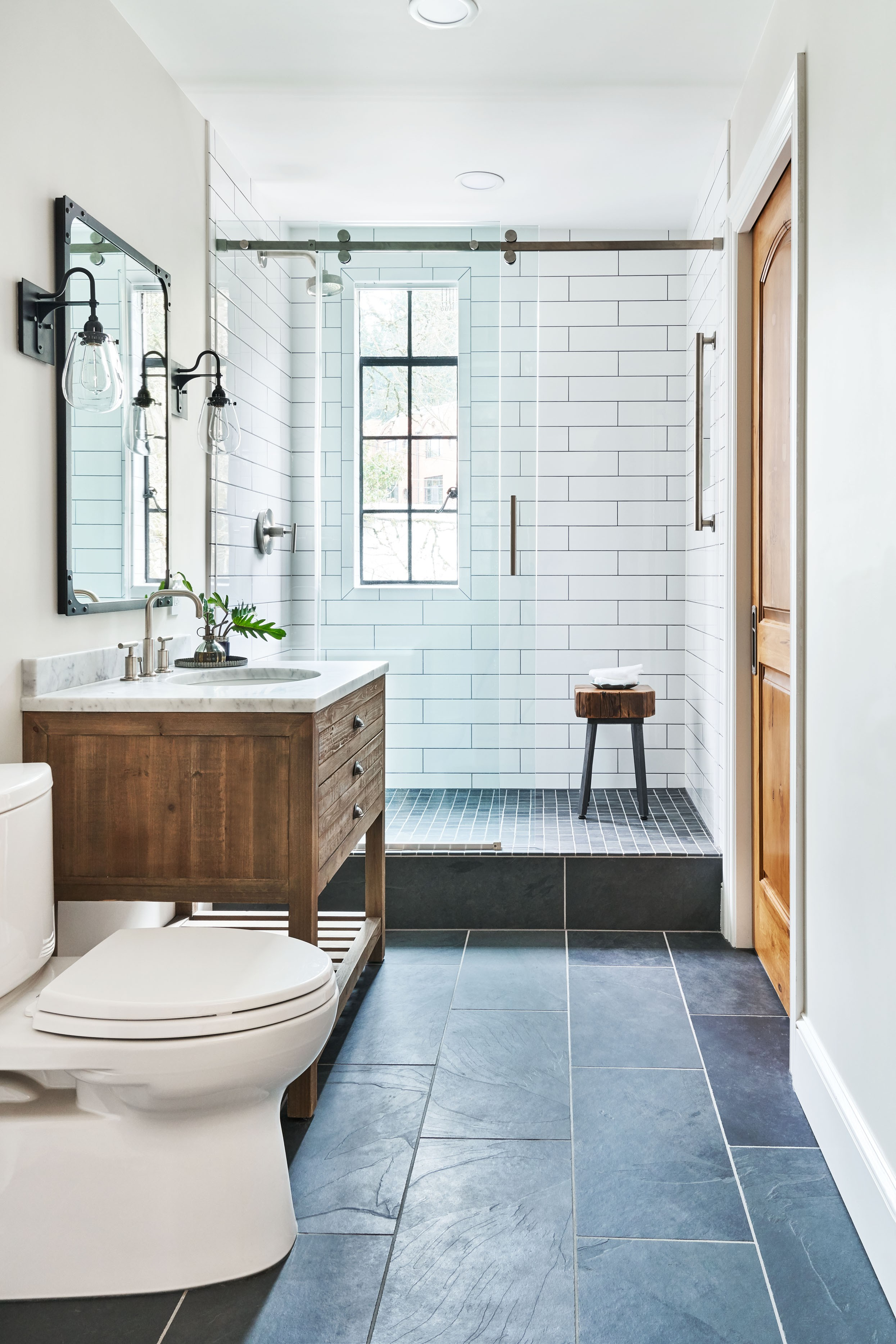 75 Beautiful Small Bathroom Pictures & Ideas | Houzz on western spa designs, western yard designs, western living room designs, western driveway entrance designs, western pool designs, western office designs, western kitchen cabinets, western master bedroom decorating ideas, western wet bar designs, western patio designs, western master bath, western landscaping designs, western kitchen designs, western porch designs, western bathroom vanities, western floor plan designs, western fireplace designs, western bedroom designs, western master bedroom furniture, western recreation room designs,