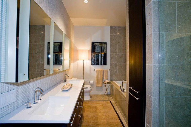 Luster of the Pearl contemporary-bathroom