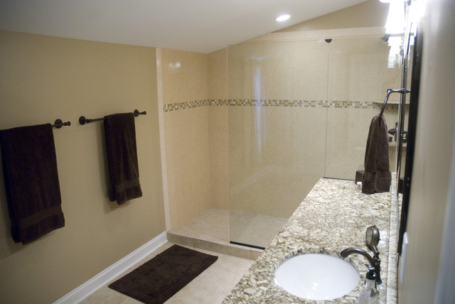 Perfectly Fit Master Bathroom contemporary-bathroom