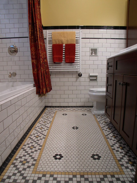 Period style bathroom reno in london ontario traditional bathroom