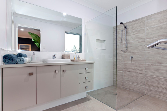 Perry homes casuarina display home contemporary for Bathroom displays