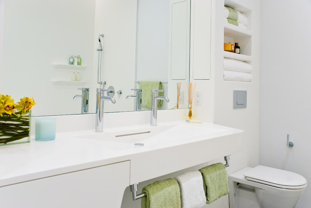 pictures of corian bathrooms. perry st. corian bathroom - nyc contemporary-bathroom pictures of bathrooms houzz