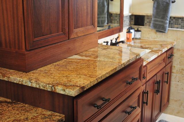 Persian Brown Granite : Persian brown granite traditional bathroom wichita