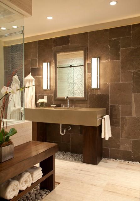 Personal Spa Bath Contemporary Bathroom Denver By Ashley Campbell Interior Design