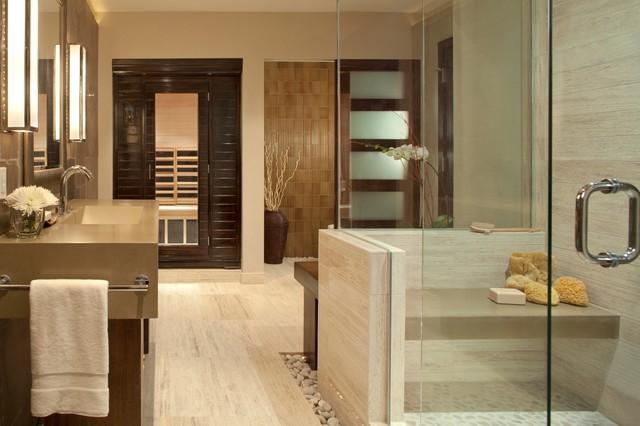 personal spa bath contemporary bathroom denver by ashley campbell interior design. Black Bedroom Furniture Sets. Home Design Ideas