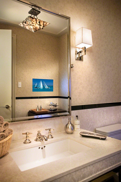 Personal touch for Home automation shower