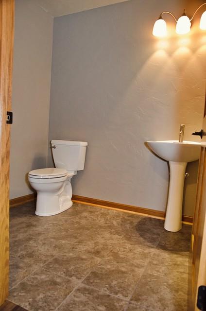 Pheasant House Basement Half Bath Craftsman Bathroom Other By Dw3 Construction Llc