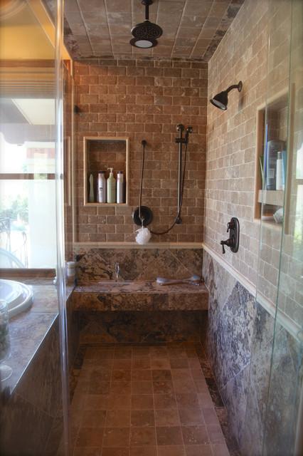 Phoenix az master bath remodel traditional bathroom for Bath remodel phoenix