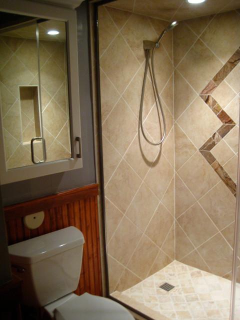 Phoenix bathroom remodel trio contemporary bathroom phoenix by studio kz architecture - Modern architectural trio ...