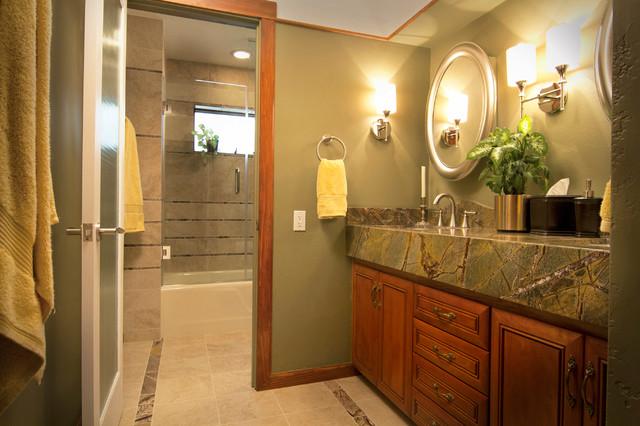Phoenix bathroom remodel trio contemporary bathroom for Bath remodel phoenix