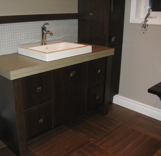 Photo salle de bain modern-bathroom