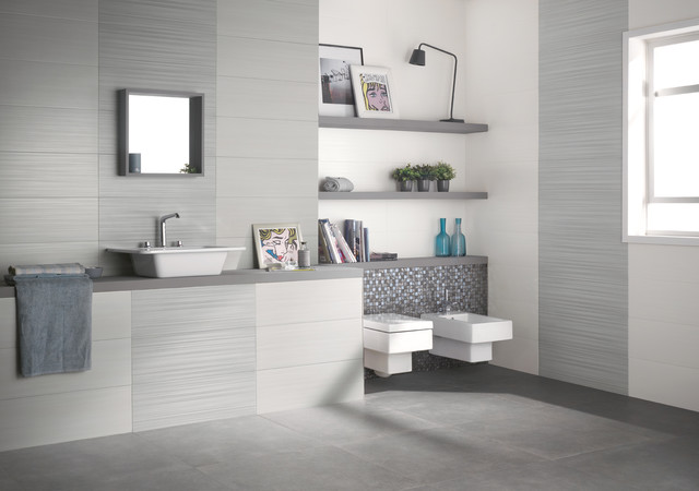 Dress Up - Piastrelle Bagno contemporary-tile