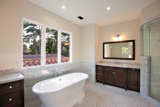 Picacho Lane contemporary-bathroom