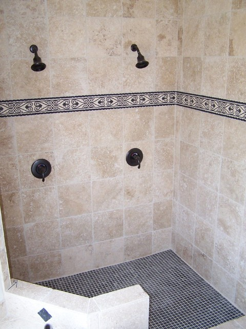 Pics of several projects contemporary-bathroom