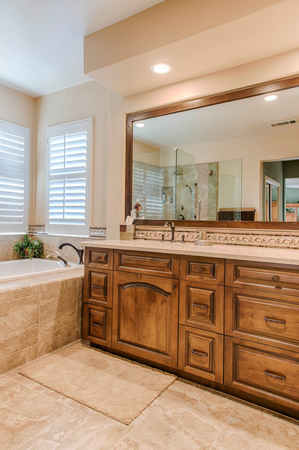 Picture perfect suburban master bath transitional for Perfect master bathroom