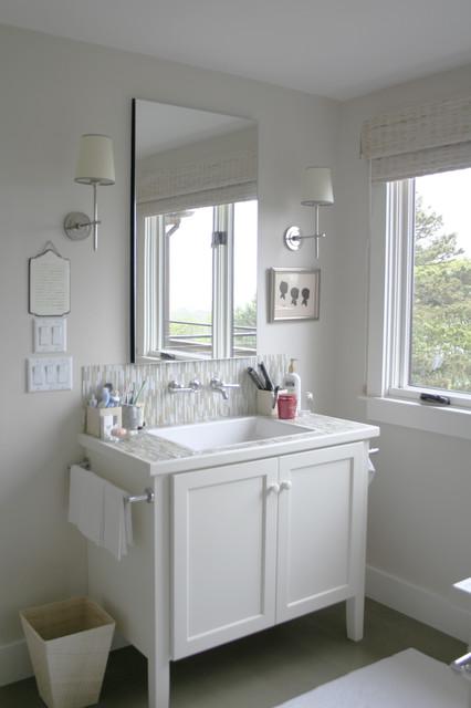 Picturesque Bathroom Cabinets traditional-bathroom