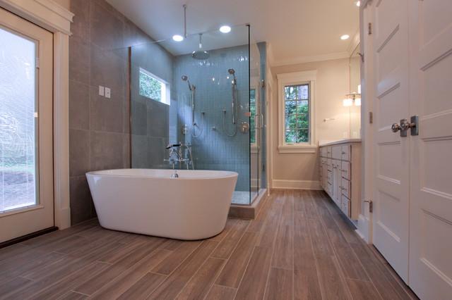 Piedmont master bath remodel tallahassee modern for Bath remodel tallahassee