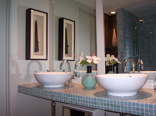Pierre Senechal Interiors + Design modern-bathroom