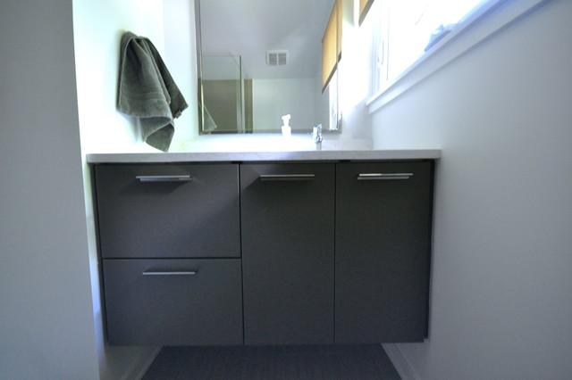 Pine Hall contemporary-bathroom