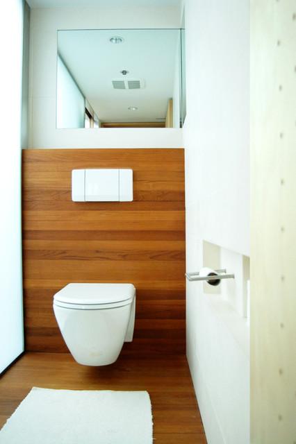 Pineapple Loft modern-bathroom