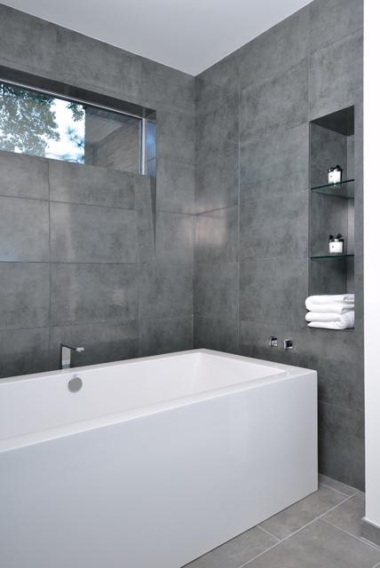 Piney Point Ranch Modern Bathroom Houston By RD Architecture - Bathroom tile houston
