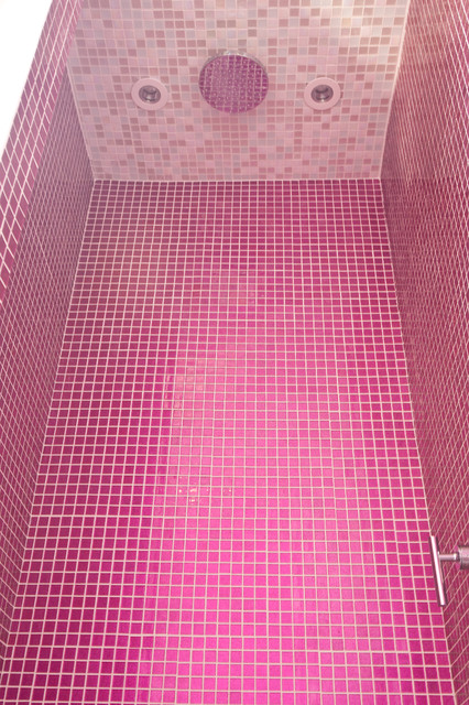 Pink Glitter Bathroom Contemporary Other Metro By