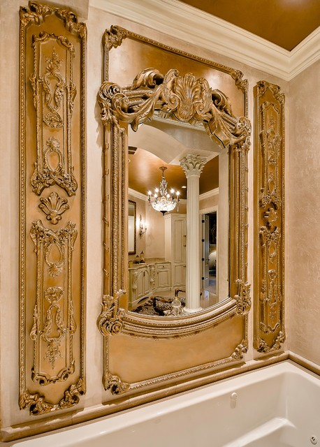 Pinnacle country club traditional bathroom little for Little rock custom home builders