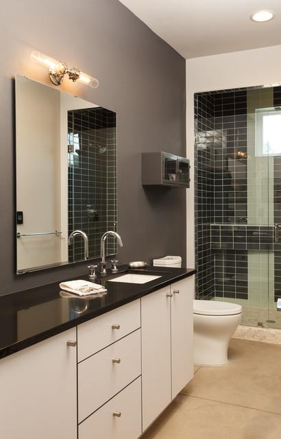 Pino avenue industrial bathroom albuquerque by for Bath remodel albuquerque