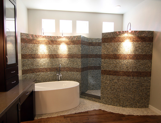 Phoenix Bathroom Remodel Extraordinary Pk Master Bathroom Remodel  Contemporary  Bathroom  Phoenix . Decorating Inspiration
