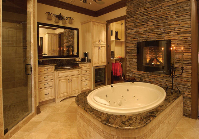 Plan 019s 0003 traditional bathroom st louis by for Houzz bathrooms traditional
