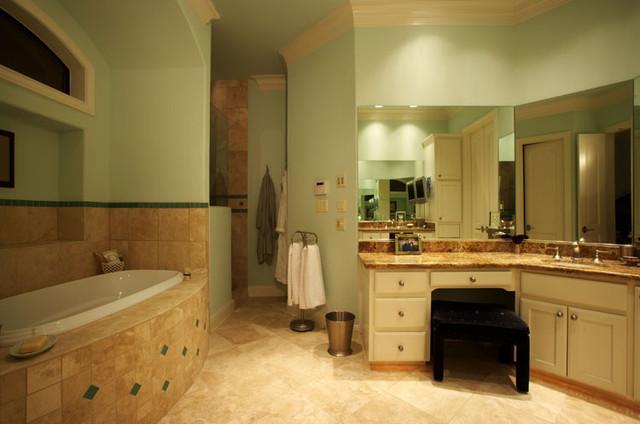 Plan #4092 contemporary-bathroom
