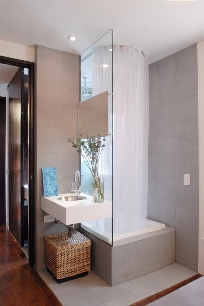 PLAN Architecture, PLLC contemporary bathroom