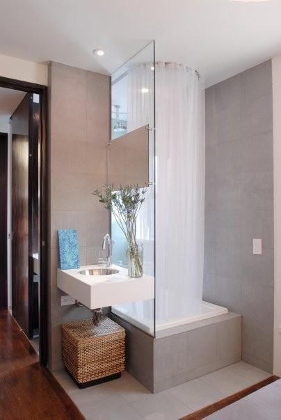 PLAN Architecture, PLLC contemporary-bathroom