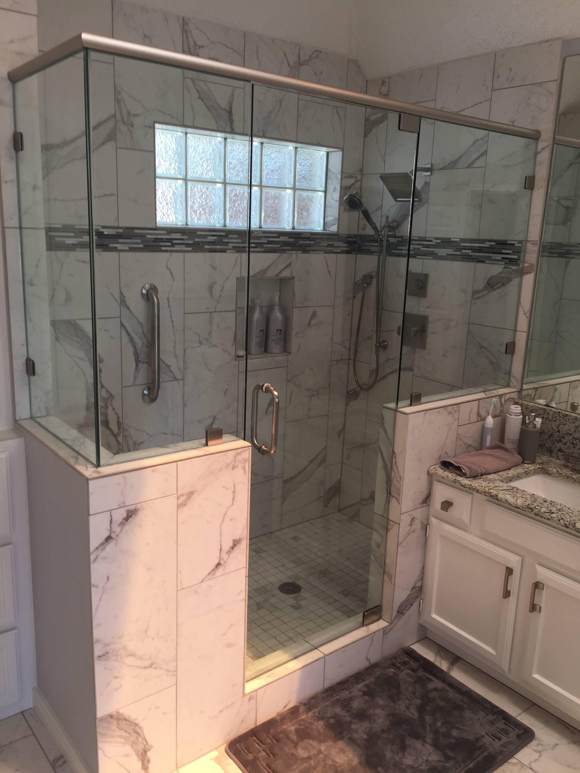 Plano Custom Master Bath