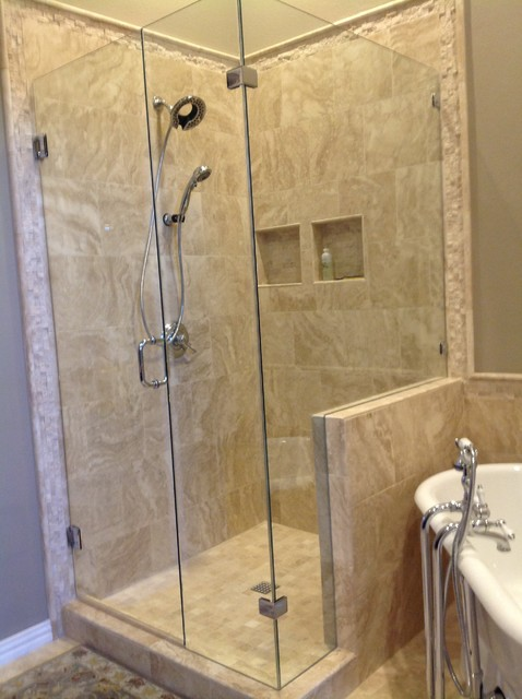 Plano Large Master Bath traditional-bathroom