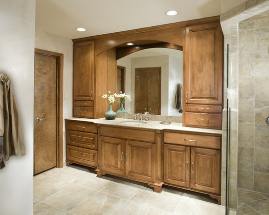 Maple Cabinets In Bathroom Design Ideas, Pictures, Remodel ...