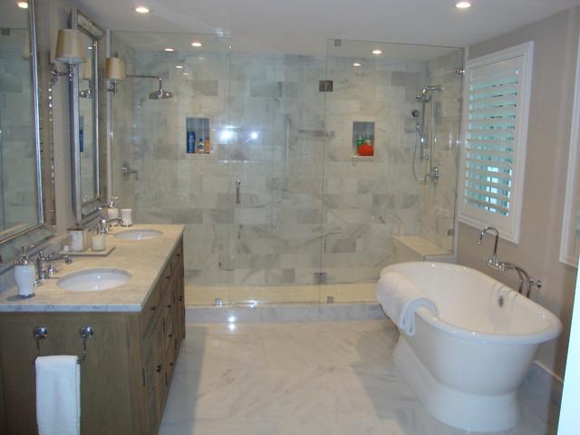 Plantation Shutters Traditional Bathroom Miami By