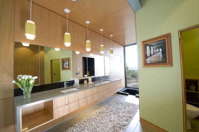 Ellis Residence - master bathroom contemporary-bathroom