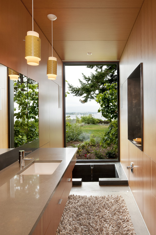Ellis Residence - master bathroom