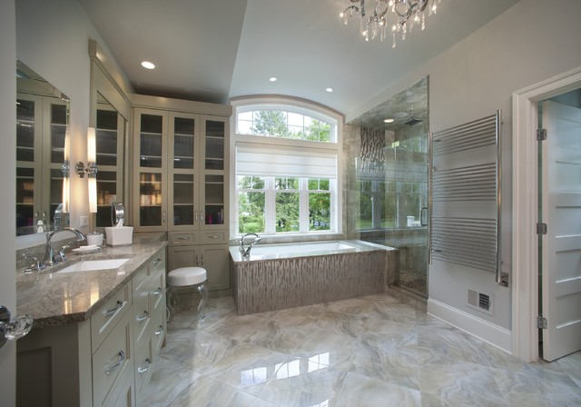 Plato Woodwork Wilmington Project Contemporary Bathroom Philadelphia By Main Street