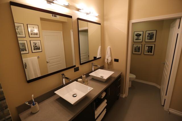 Playa Vista Condo Modern Bathroom Los Angeles By Susan Deneau Interior Design