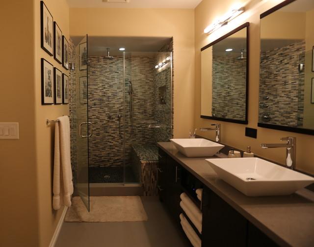 卫生间细节混搭风格装潢效果图