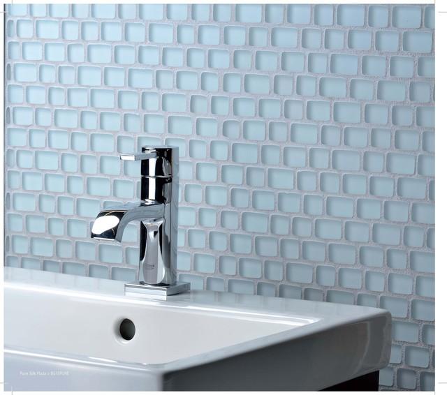 Plaza- Pure Silk contemporary-bathroom