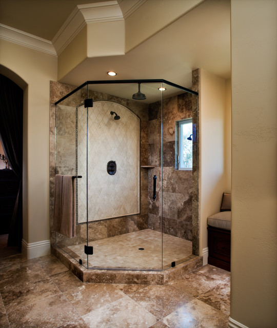 Bathroom Mediterranean Style: Pleasant Hill Tuscan