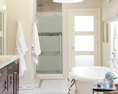 Pleasant Valley transitional-bathroom